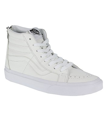 04dba62caa boty Vans Sk8-Hi Reissue Zip - Premium Leather True White Black ...