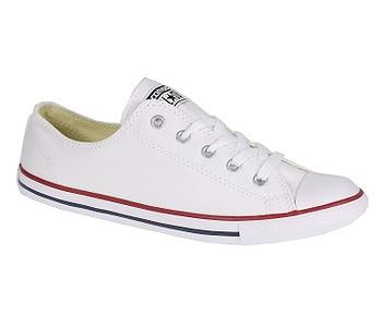 7cc1876781 Tenisky · Converse. dámske. topánky Converse Chuck Taylor All Star Dainty  Canvas OX - 537204 White