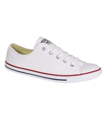 topánky Converse Chuck Taylor All Star Dainty Canvas OX - 537204 White  4273c0d2132