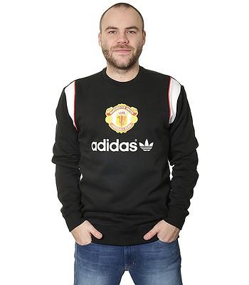 mikina adidas Originals Manchester United Crew - Black - snowboard ... 7a3e26f353c
