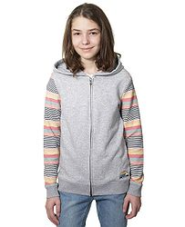 mikina Roxy Dance To The Music Zip - SGRH Heritage Heather e1d75fe59f0