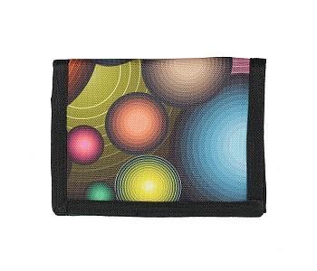 peněženka Sittar 70 Sup Slim - Black/Multicolor Circle