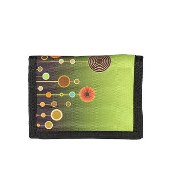peňaženka Sittar 70 Sup Slim - Green Galaxy Flowers - snowboard ... 530e1c31b6