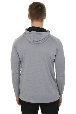 ... tričko Under Armour Tech Popover Henley LS - 035 Steel a0f7511a75