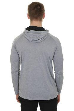 ... tričko Under Armour Tech Popover Henley LS - 035 Steel a0f7511a75
