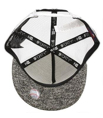 kšiltovka New Era 9FO Flecked Trucker MLB Los Angeles Dodgers - Black White d7006327d2