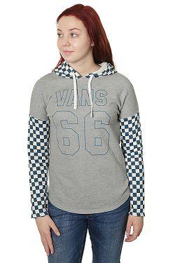 mikina Vans Varsity Vans Hoodi - Gray Heather 34ac6ac06a1