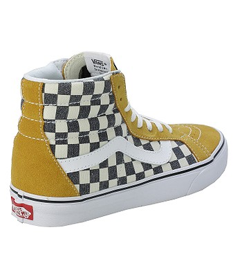 db2e824484b0e4 shoes Vans Sk8-Hi Reissue - Checkerboard Spruce Yellow Navy. No longer  available.