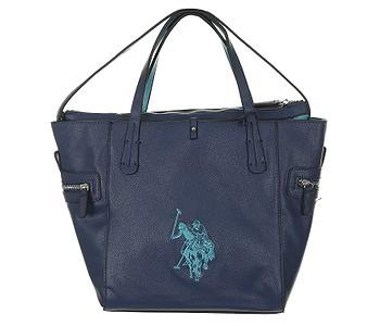 taška U.S.Polo Assn. BAG118S6/03 - Navy/Turquoise