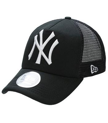 kšiltovka New Era FL Clean Trucker MLB New York Yankees - Black White 1995489c601