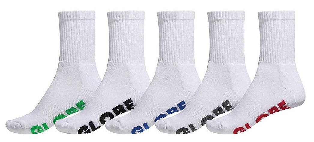 Globe Stealth Crew 5 Pack Socks