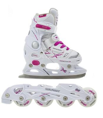 Roller Skates Tempish Neo X Girl Duo White Pink Snowboard Online Eu