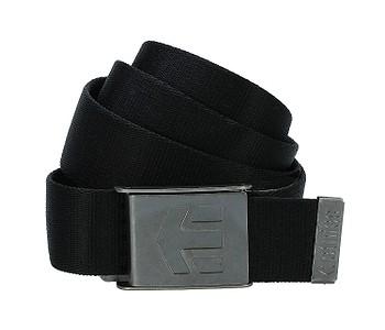 pásek Etnies Staplez - Black/Gray