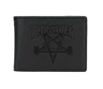 peněženka Thrasher Skategoat Leather - Black