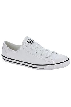 ed1020e38826 boty Converse Chuck Taylor All Star Dainty Leather OX - 537108 White ...