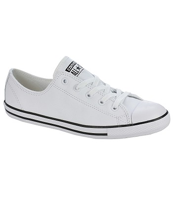 boty Converse Chuck Taylor All Star Dainty Leather OX - 537108 White ... 65f7339f24