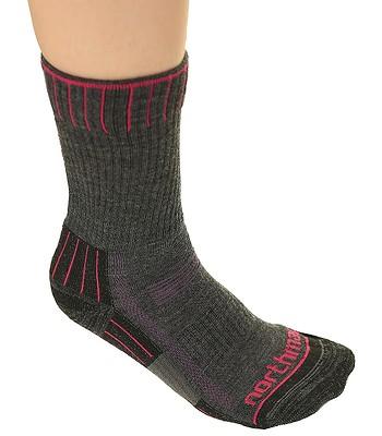 9225e8011ab ponožky Northman Hiking Lite - Gray Purple - snowboard-online.sk