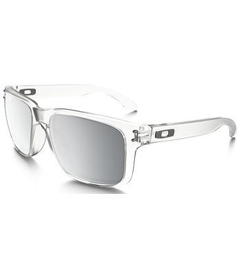okuliare Oakley Holbrook - Polished Clear Chrome Ieidium - snowboard ... e4f95613579