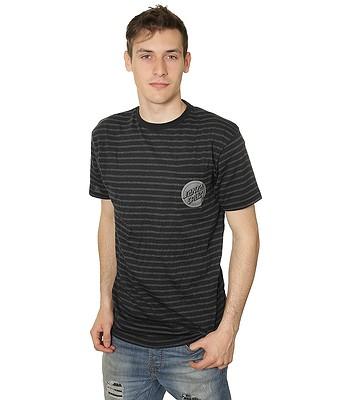 04227abdc66fd tričko Santa Cruz SCS Hand Stripes - Black Carbon Melange