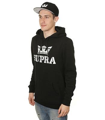 mikina Supra Above - Black - snowboard-online.sk ef792449647