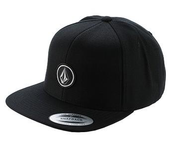 kšiltovka Volcom Quarter Twill Snapback - Black
