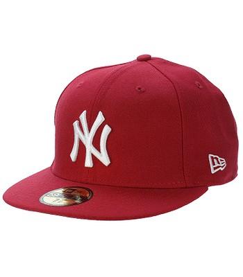 kšiltovka New Era 59F Basic MLB New York Yankees - Scarlet White Logo 31f66b38c1