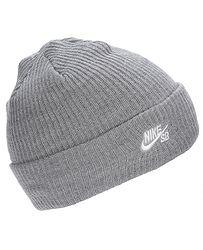 čiapka Nike SB Fisherman - 064 Dark Gray Heather White 90bc0451082