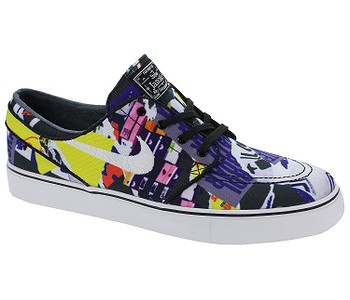 pánske. topánky Nike SB Zoom Stefan Janoski Canvas Premium - Black White  Black White 73c5396522f