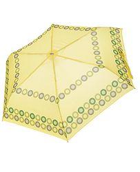 1905c3772 dáždnik Doppler Mini Slim Lollipop - Yellow/Green