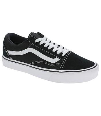 topánky Vans Old Skool Lite - Suede Canvas Black White - snowboard ... b166219c78b