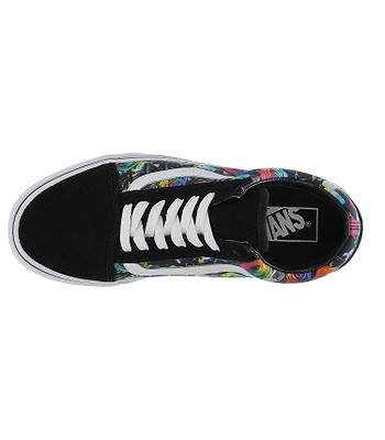 19dd5b52f747 shoes Vans Old Skool - Rainbow Floral Black True White. No longer available.