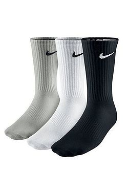 socks Nike Value Cotton Crew 3 Pack - 965/Multicolor