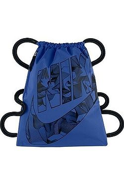 vak Nike Heritage Gymsack - 481 Game Royal Black Black 3587a22020