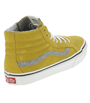 1c933b70e7 shoes Vans Sk8-Hi Slim - Vintage Suede Amber Gold. No longer available.