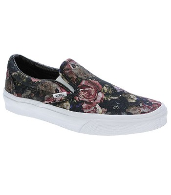 957aed59c2 shoes Vans Classic Slip-On - Moody Floral Black True White -  snowboard-online.eu