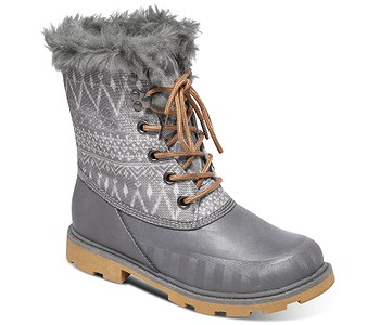 boty Roxy Himalaya - Charcoal - boty-boty.cz - doprava zdarma dc7aacb647