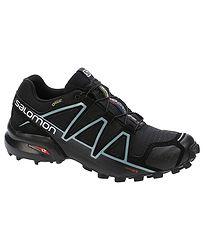 topánky Salomon Speedcross 4 GTX W - Black Black Metallic Bubble Blue 0172af070a5