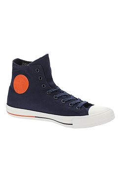 d2a5f105618 topánky Converse Chuck Taylor All Star Hi - 153793 Obsidian White Signal Red