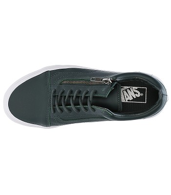 Schuhe Vans Old Skool Zip Antique Silver Green Gables