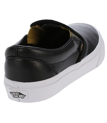 4538f911b6bc0e shoes Vans Classic Slip-On - Metallic Gore Black Gold. No longer available.