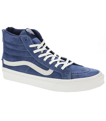 dd851a6c2d shoes Vans Sk8-Hi Slim Zip - Scotchgard Obsidian Blanc De Blanc -  blackcomb-shop.eu