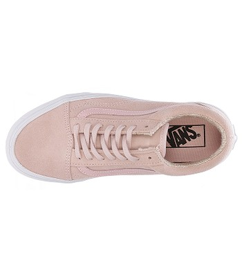 3ef7516bca shoes Vans Old Skool - Suede Woven Peachskin True White. No longer  available.