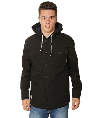 56040f4224 jacket Vans Lismore Deluxe - Black - snowboard-online.eu