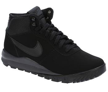 boty Nike Hoodland Suede - Black/Black/Anthracite