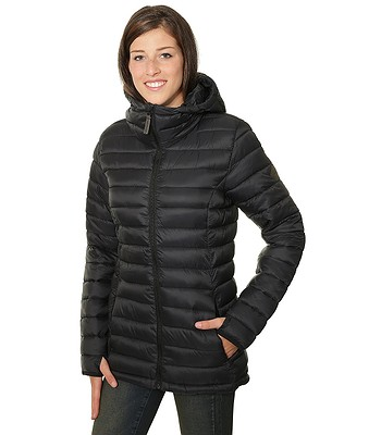 bunda Burton Evergreen Hooded Synthetic Insulator - True Black ... 386b68c1905