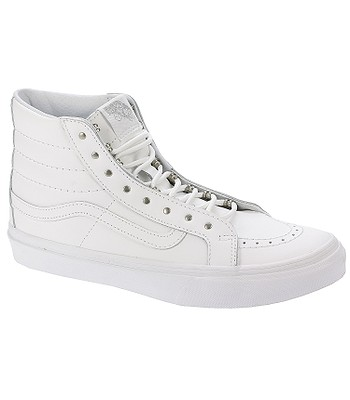 da1b371b33 shoes Vans Sk8-Hi Slim - Rivets Antique Silver True White -  snowboard-online.eu