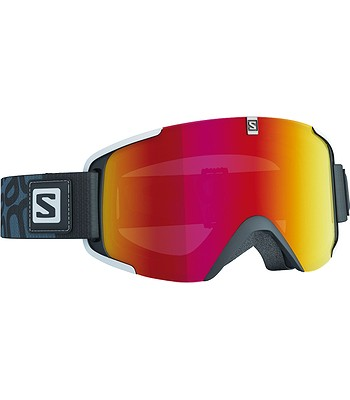 okuliare Salomon Xview - Black Universal Mid Red - snowboard-online.sk 6bf8c2ee3b8