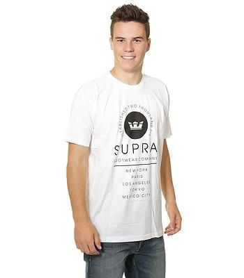 tričko Supra Caske - White - snowboard-online.sk 83a62b02e2b