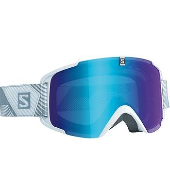 okuliare Salomon Xview - White Universal Mid Blue - snowboard-online.sk 2dbf692e7fa
