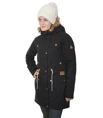 3c56098e3ce8f5 kurtka Meatfly Rainy - Black - snowboard-online.pl